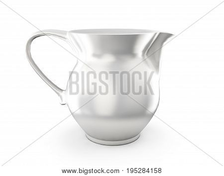Group of blank milk boxes. Retail package mockup set. Isolated on white. 3d rendering.