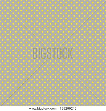 The polka dot pattern. Seamless vector illustration with round circles, dots.  Vector illustration in retro, vintage style print on fabric, textile, wrapping, Wallpaper, scrap-booking.