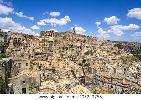 Matera, Basilicata, Italy, European Capital of Culture 2019