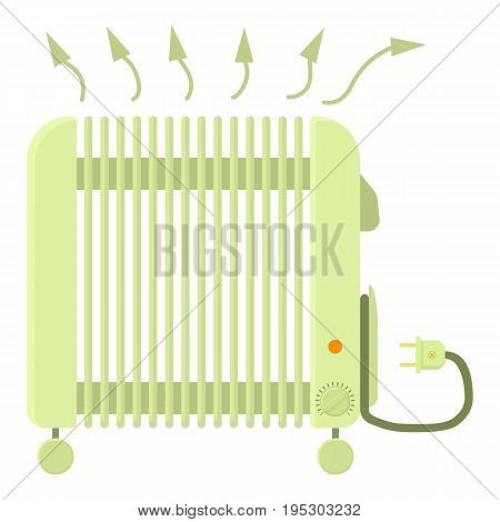 Heater icon. Cartoon illustration of heater vector icon for web design
