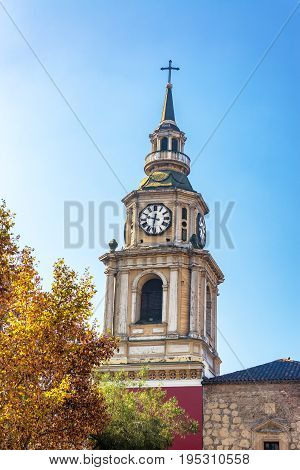 San Francisco Church In Santiago