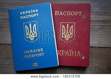 Replacement Of Ukrainian Passport Red And Blue Documents