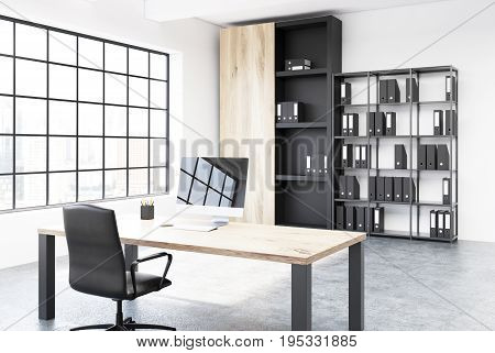 Original Table Ceo Office Interior Corner