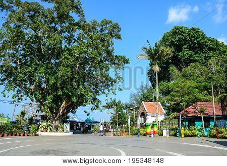 Green Park At Penang Hill In Malaysia