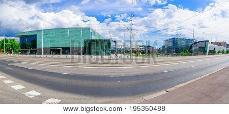 Helsinki Music Center (musiikkitalo), And The Museum Of Contemporary Art (kiasma), In Helsinki