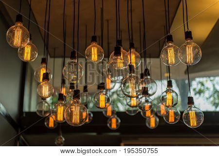 Beautiful Vintage Lighting Decor For Building Interiors