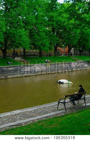 Aura River, In Turku