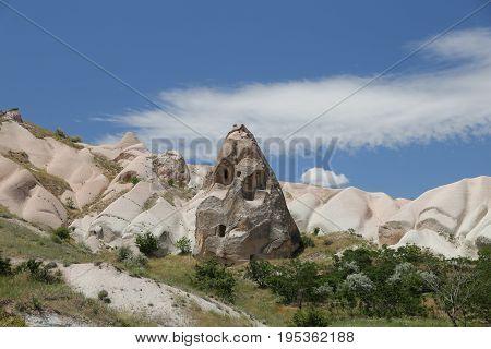 Rock Formation In Cappadocia
