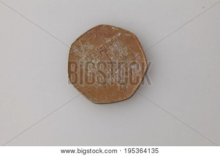 Antikvariat. Antique Iron Coins
