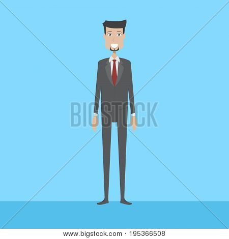 Employer Character | set of vector character illustration use for human, profession, business, marketing and much more.The set can be used for several purposes like: websites, print templates, presentation templates, and promotional materials.