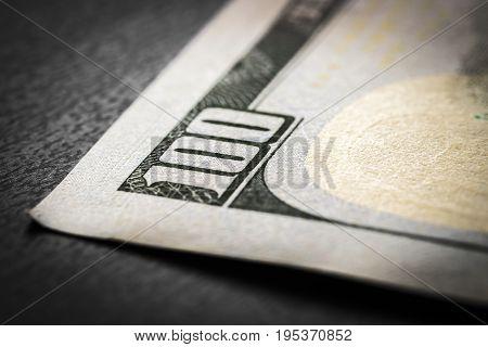 Fragment 100-dollar Bill