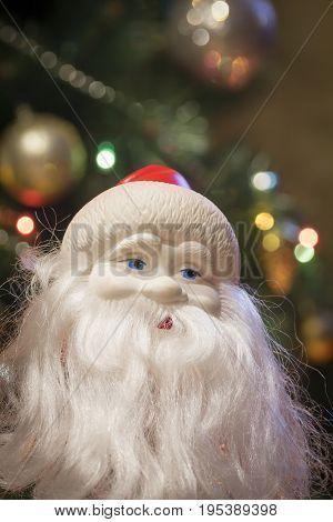 Figurine Of Santa Claus