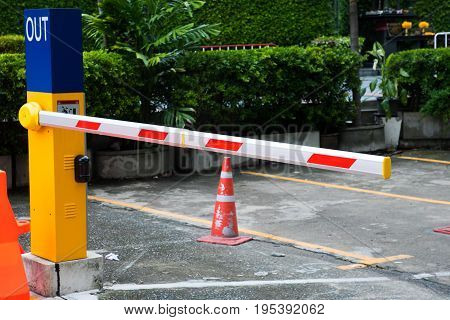 Barrier Gate Automatic system for security CAR parking