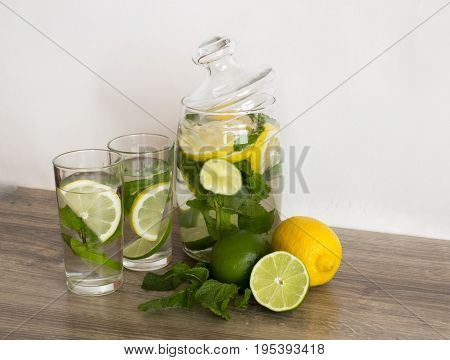Isolated citrus fruits. Pieces of lemon lime pink grapefruit and orange isolated on white background with clipping path