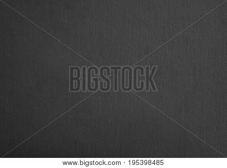 Background Pattern Dark Gray Stucco Wall for Background or Texture with Copy Space for Text Decorated.