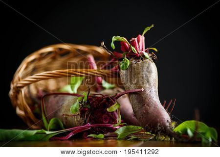 Fresh Organic Raw Beet