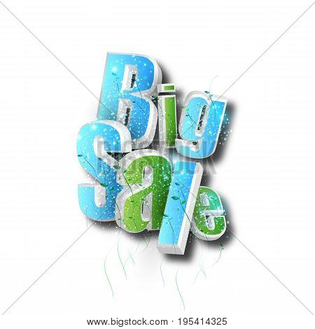 Big Sale concept abstract label banner easy all  editable