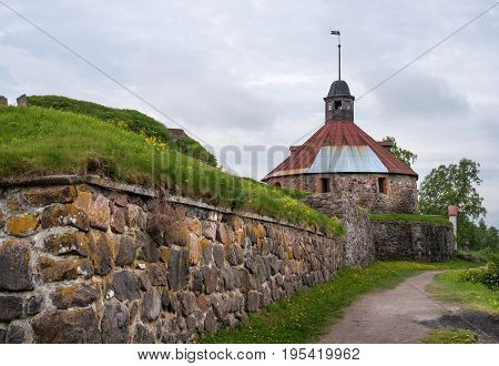 Korela fortress is a stone fortress in the town of Priozersk, on the island of the river Vuoksi. Russia