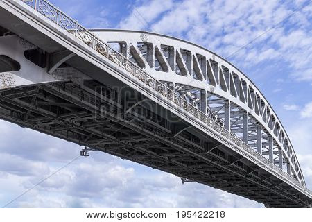 Arch Of Railway Bridge
