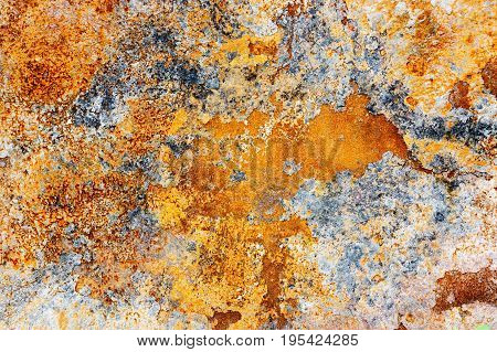 Grunge rust metal texture. Old rusted background.