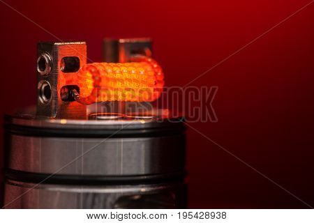 Burning Staple Staggered Fused Clapton Coil
