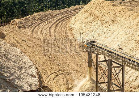 Sugar Cane Bagasse Fiber