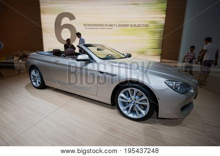 Bmw 650I Convertible Car
