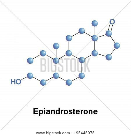 Epiandrosterone is a steroid hormone with weak androgenic activity. It is a metabolite of testosterone and DHT