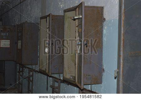 Soviet Radar Duga Control Rooms. Chernobyl Exclusion Zone