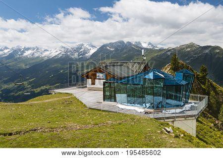 The Gratli Restaurant Skybar, Austria, Editorial