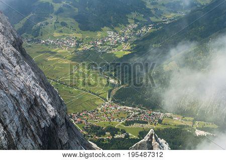 Ehrwald And Lermoos In Tyrol, Austria