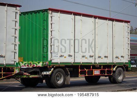 Isuzu Ftz240 Container Truck And Trailer Ppl Logistic Transport.