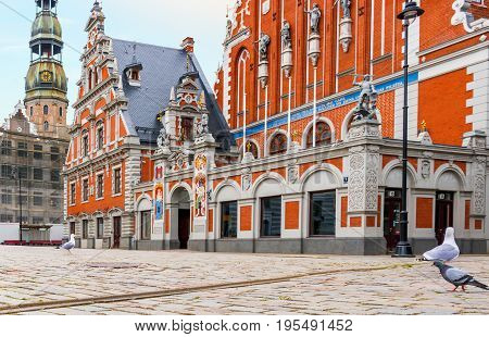 Historical center of Riga - the capital city of Latvia, major cultural, historical and tourist center of Baltic region