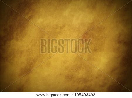 Sandy ecru camel beige creased digital parchment empty background