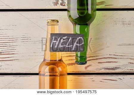 Get rid of alcohol dependence. Alcoholism leads to illness.