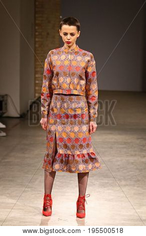 Ukrainian Fashion Week Aw 2017/18: Laksmi Collection