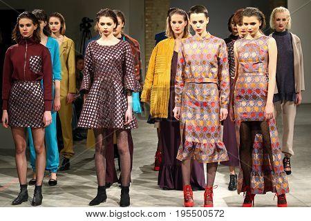 Ukrainian Fashion Week Aw 2017/18: Laksmi Collection