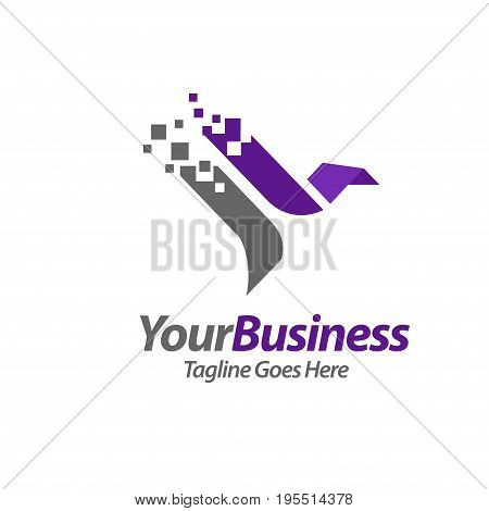 best eagle abstract logo concept, luxury phoenix consulting element logo icon concept,