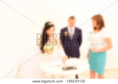 A blurred abstract background can be an illustration to an article about marriage and engagement