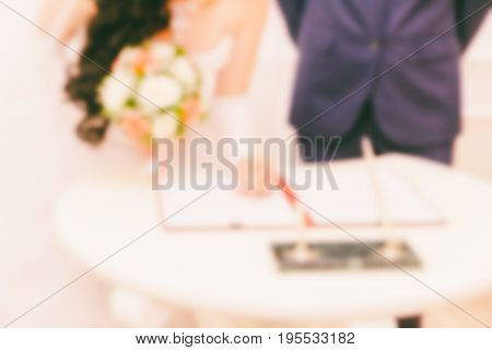 Blurred abstract background can be an illustration to the article about marriage and engagement