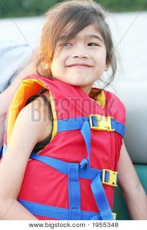 Child In Life Vest