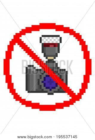No Photography Sign Vector Photo Free Trial Bigstock