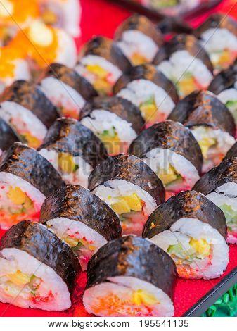 Sushi Norimaki, Japanese Cuisine.