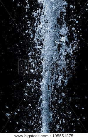 Fresh pure water spout renewable sustainable clean top energy 16. Beautiful freezed motion in life of h20 fluid. Outburst power splashes from bottom to top. Healthy method to prevent climate change.
