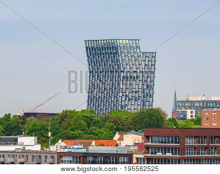 Tanzende Tuerme (dancing Towers) In Hamburg Hdr