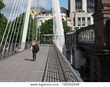 Jubilee Bridge In London