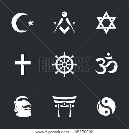 Islam, masonry, judaism, christianity, buddhism, hinduism, paganism, taoism.