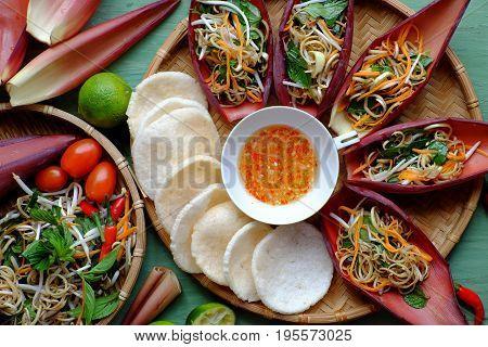 Diet Salad, Vegetarian Food