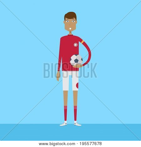 Sportman Character   set of vector character illustration use for human, profession, business, marketing and much more.The set can be used for several purposes like: websites, print templates, presentation templates, and promotional materials.