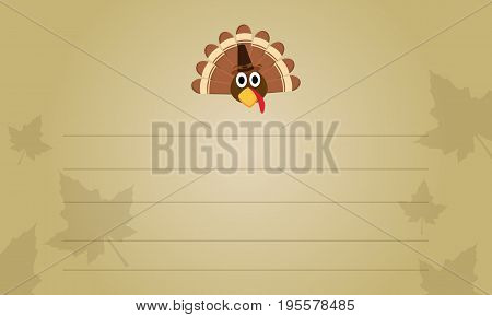 Thanksgiving greeting card collection stock vector illustration